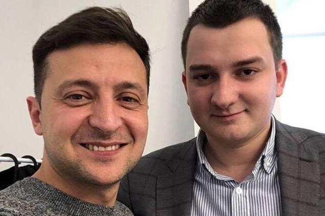 Президент Украины Владимир Зеленский и Михаил Ананченко