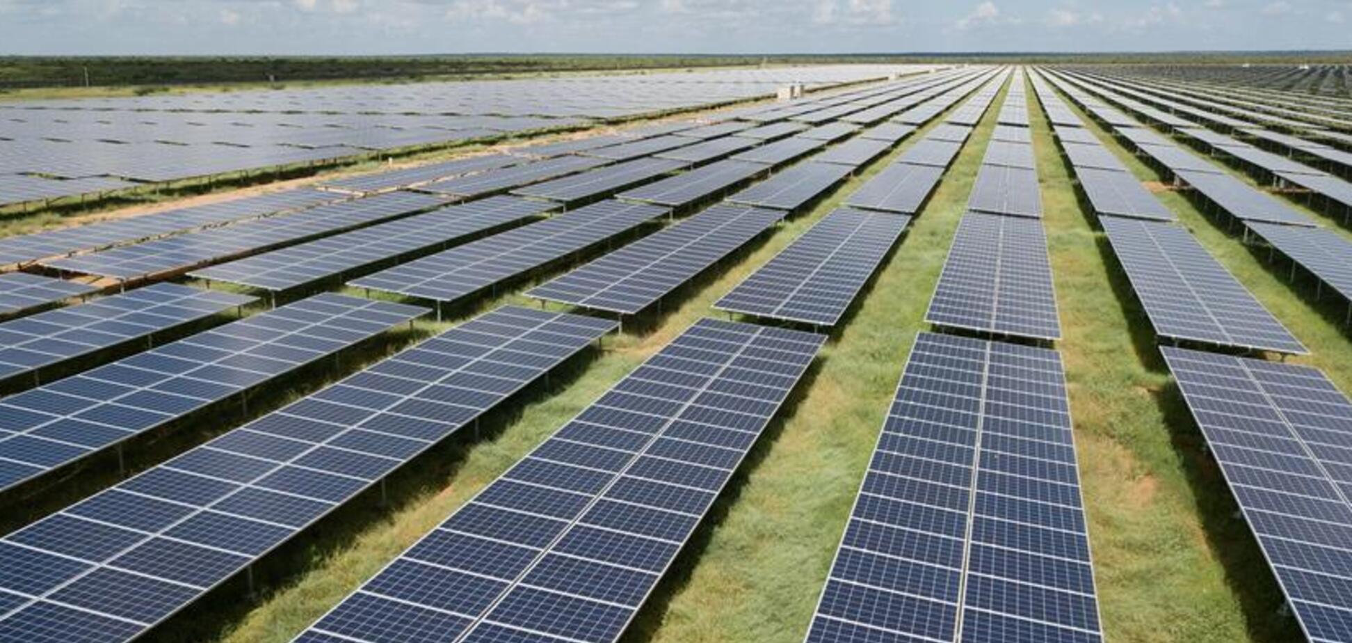 В Африці запустили найбільшу сонячну електростанцію. Фото