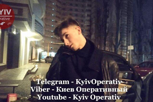 В Киеве 18-летний парень устроил гонки с полицией
