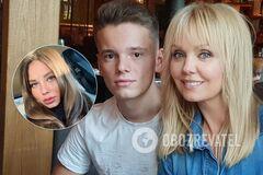 Силіконові губи та пишні груди: як виглядає дівчина сина Валерії, який тричі потрапив у ДТП