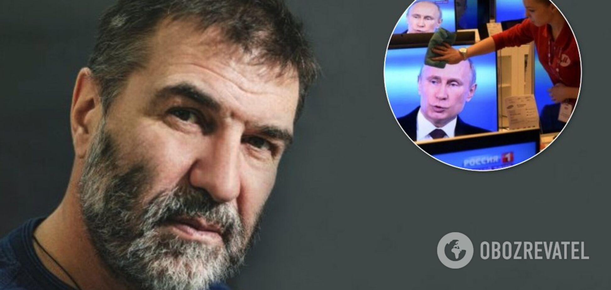 'Демони!' Євген Гришковець потужно пошпетив пропагандистів Росії через Україну