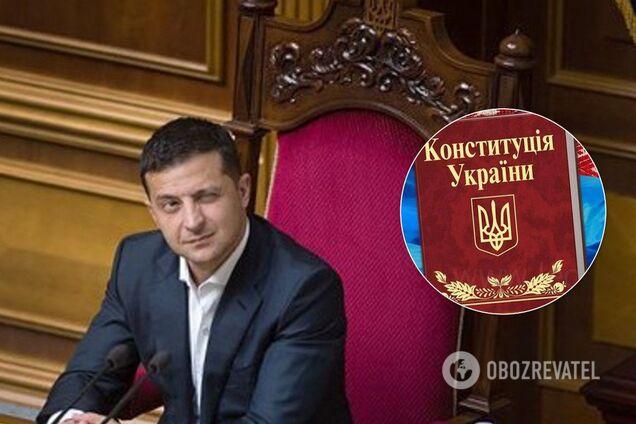 Владимир Зеленский - законопроект о децентрализации в Украине