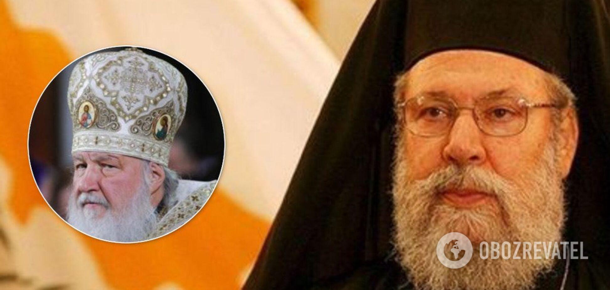 Архієпископ Кіпрський Христосом