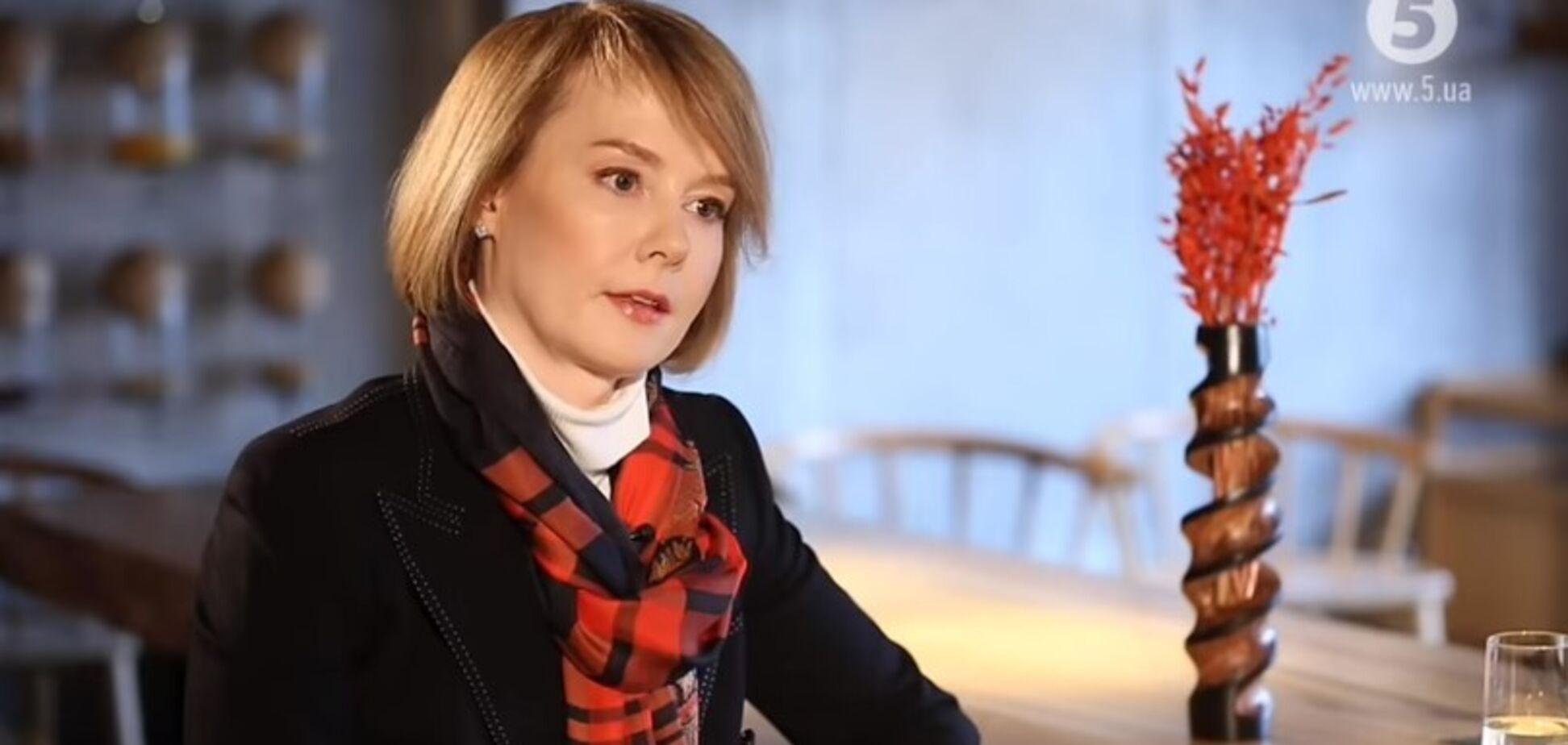 Олена Зеркаль в ефірі 'Рандеву'