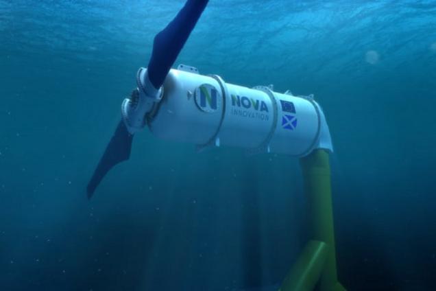 Приливная гидроэлектростанция Nova Innovation