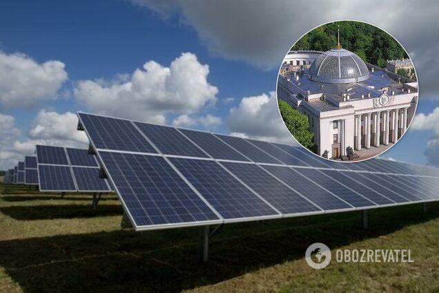 """В Украине хотят экстремально снизить """"зеленый тариф"""": что известно"""