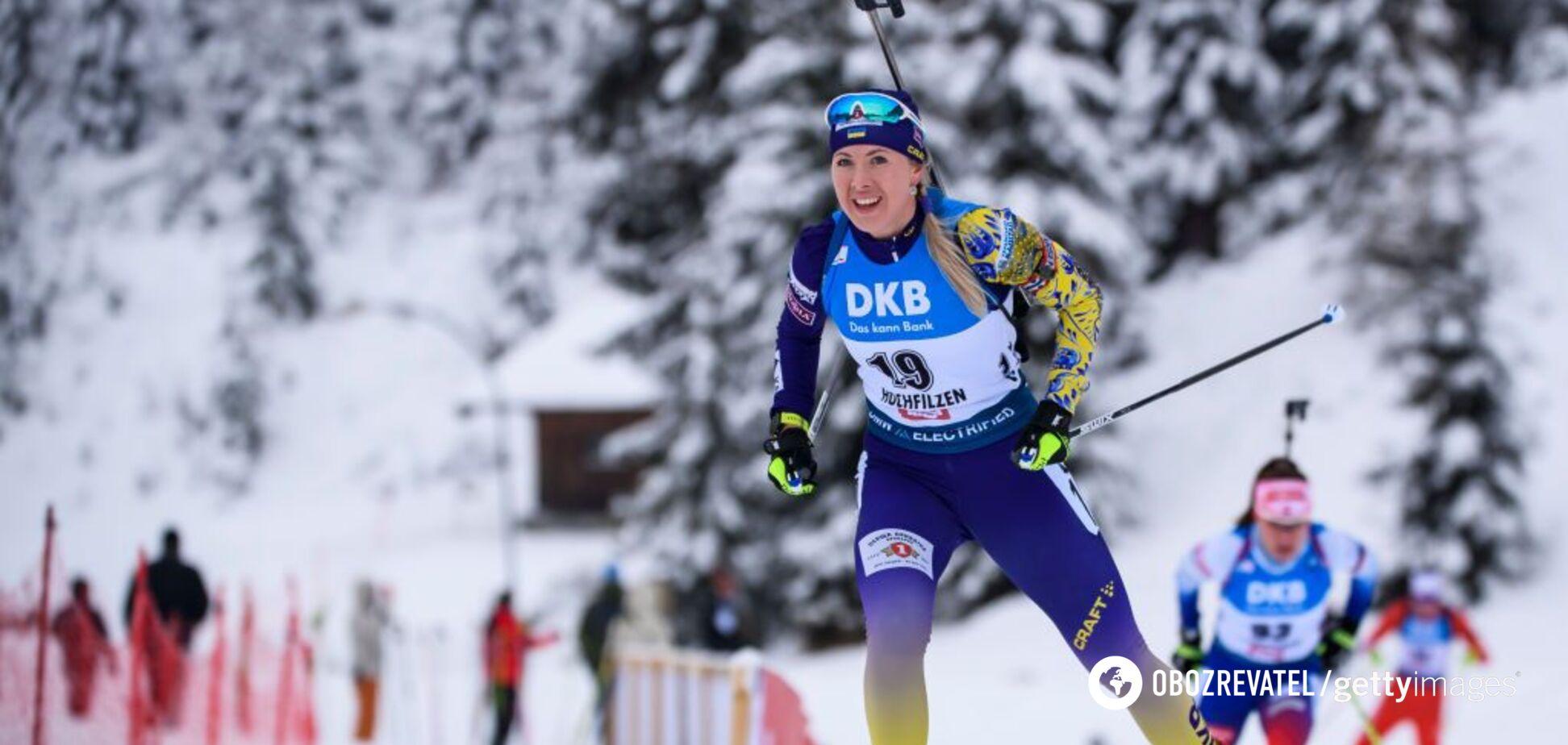 Україна назвала склад на 3-й етап Кубка світу з біатлону