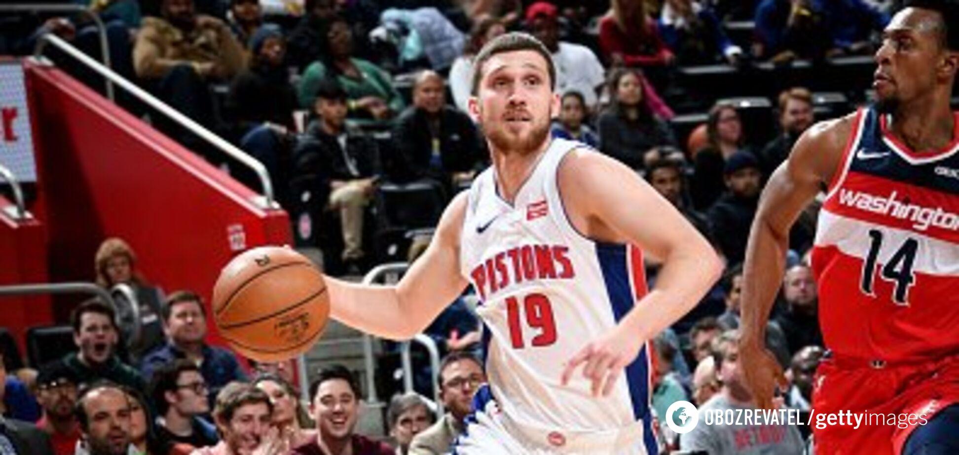 Українець Михайлюк виконав ефектні триочкові в НБА