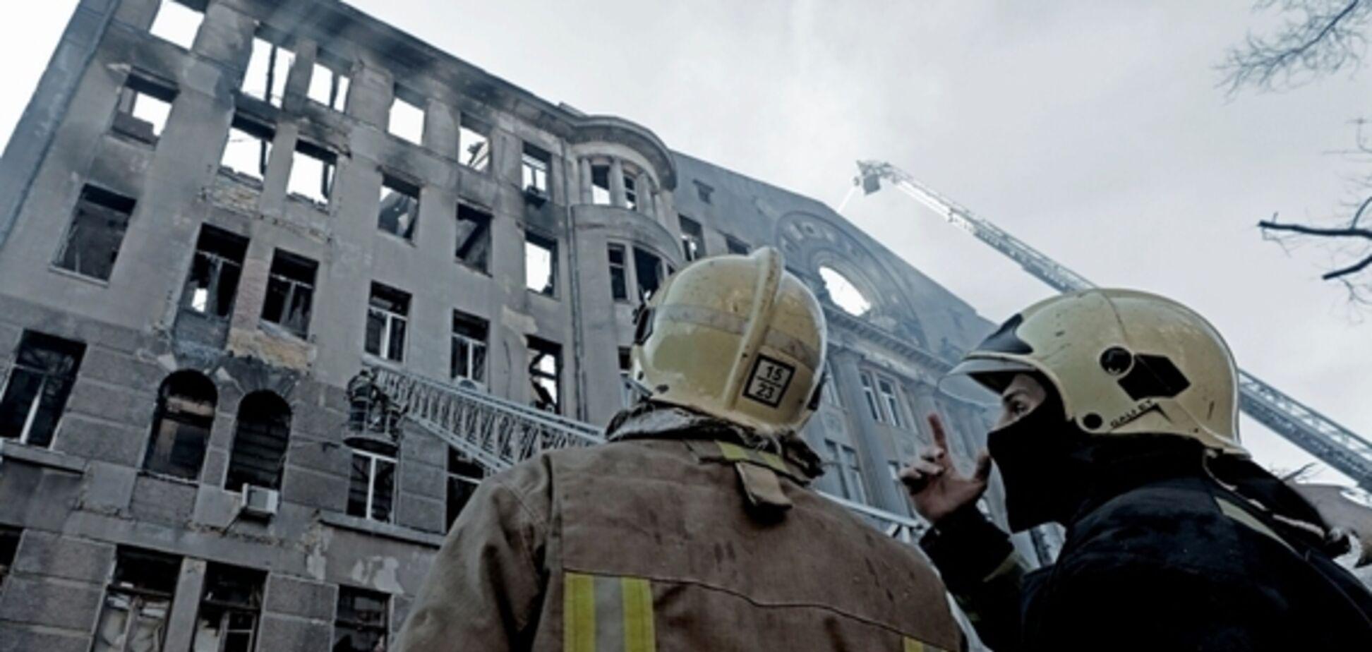 Пожар в колледже Одессы: названа причина