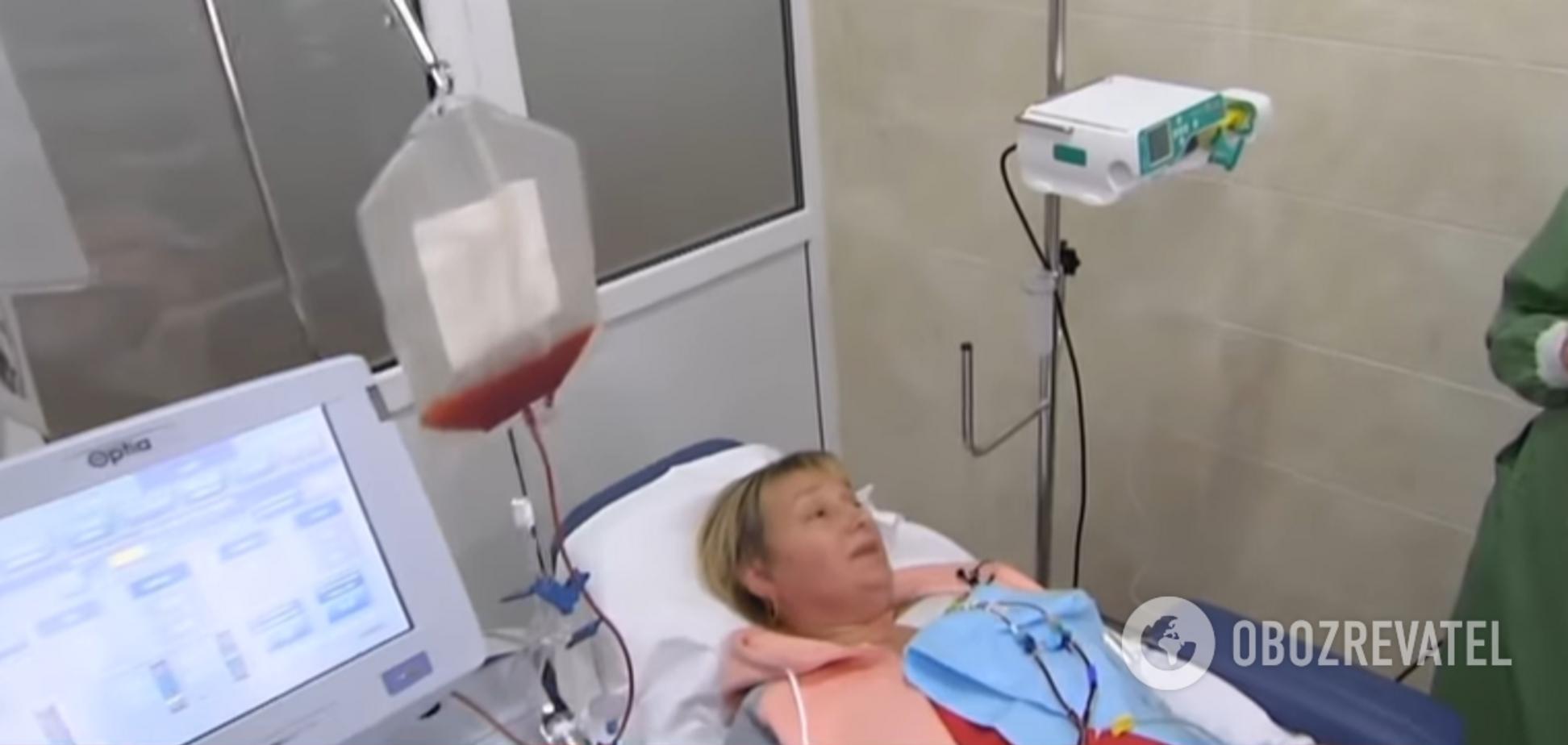 Готовились 20 лет: в черкасском онкоцентре провели уникальную операцию. Видео