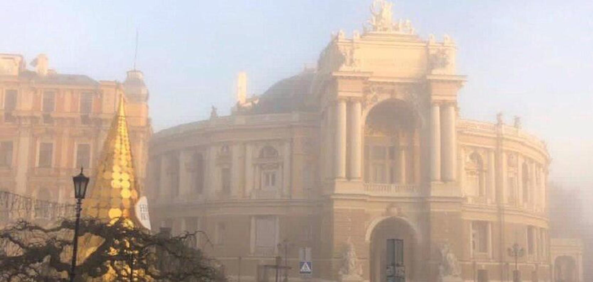 Синоптики обіцяють Одесі тумани