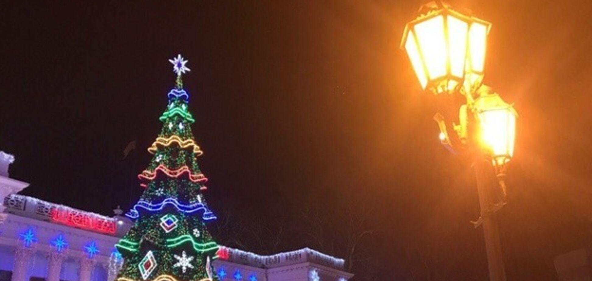 Главная новогодняя елка Одессы