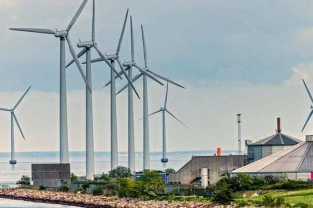 Вітрогенератори в Данії