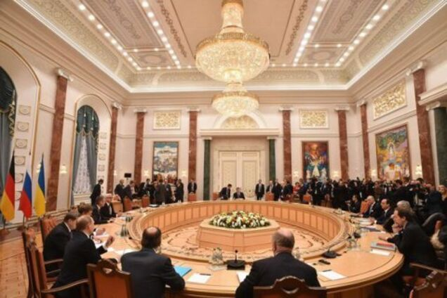 Ілюстрація. Засідання ТКГ в Мінську
