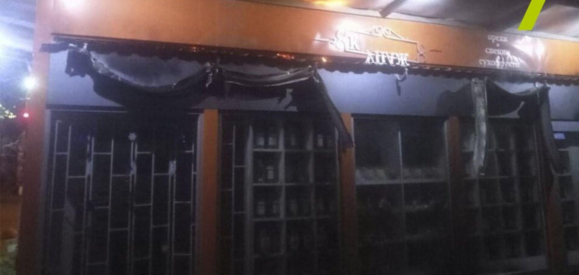 В Одессе сожгли магазин депутата