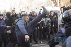 Иван Старостенко на митинге