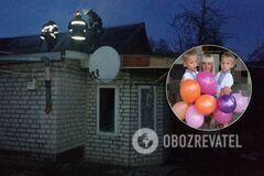 Двое детей спасены, мама – в реанимации: в Черкассах произошел страшный пожар. Фото, видео