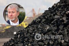 Абрамович зупинив експорт вугілля через Україну