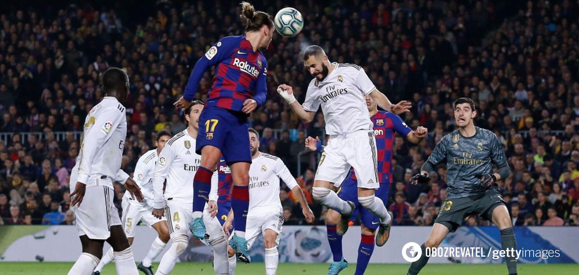 'Реал' – 'Барселона': прогноз на Ель-Класіко