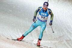 Украинский биатлонист с большим отрывом выиграл 'золото' Кубка IBU