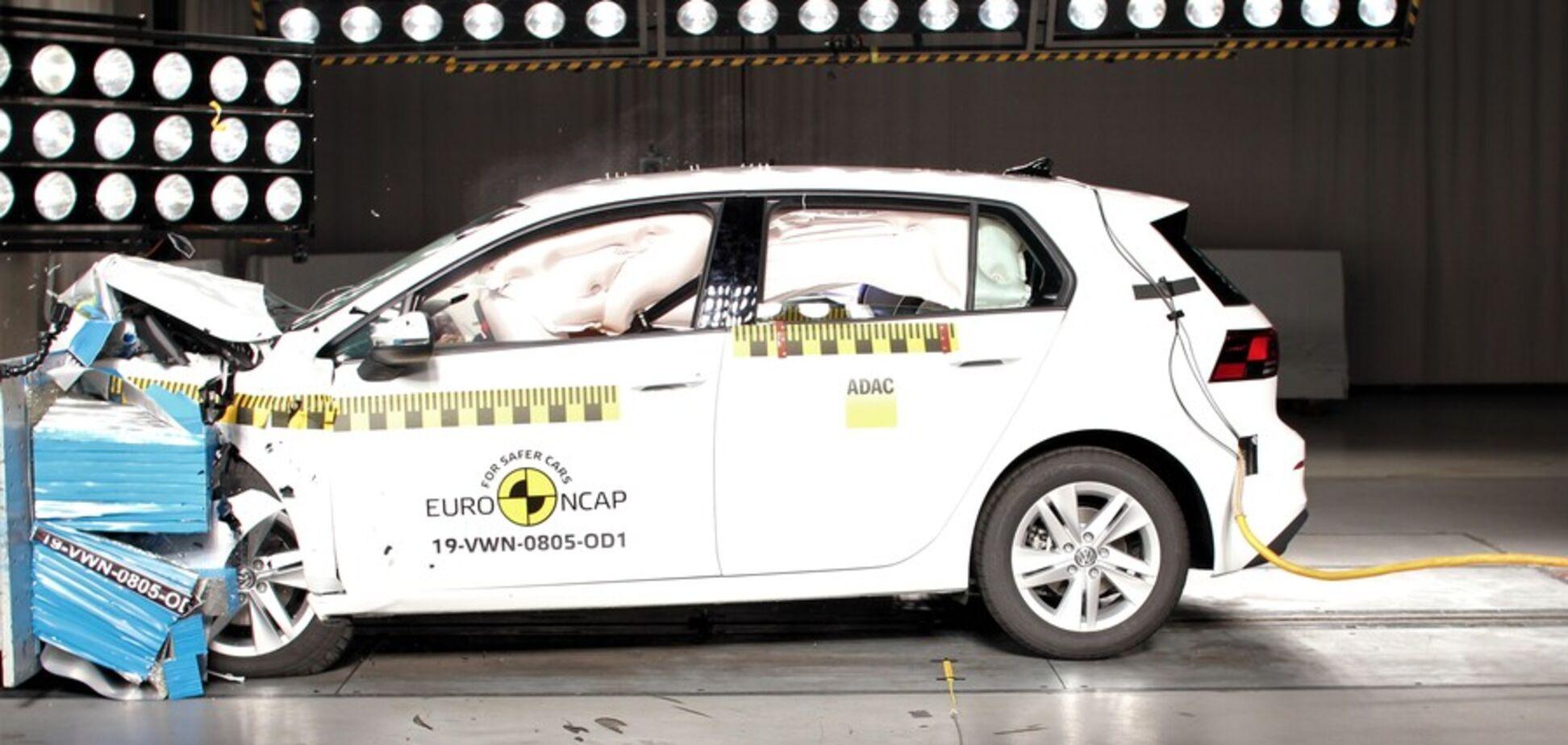 Переможці й переможені: Volkswagen Golf, Nissan Juke і ще 8 авто на краштестах Euro NCAP