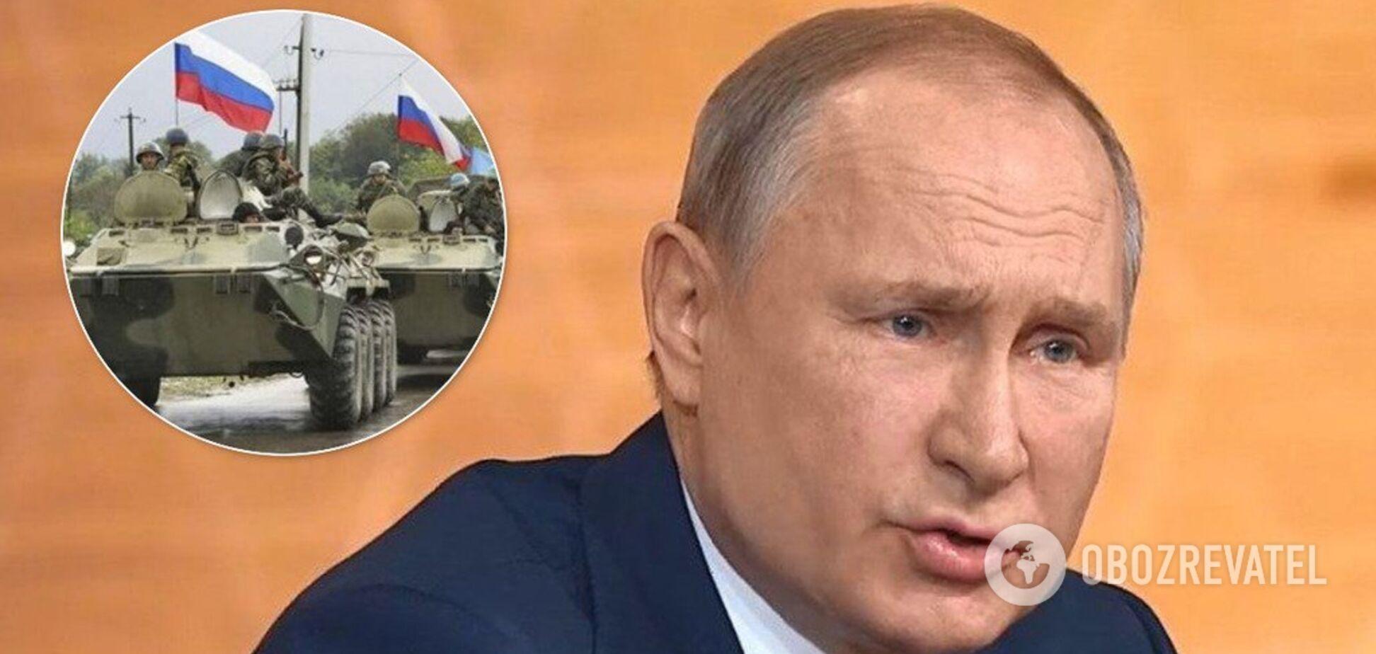 'Там немає іноземних військ!' Путін збрехав про найманців на Донбасі