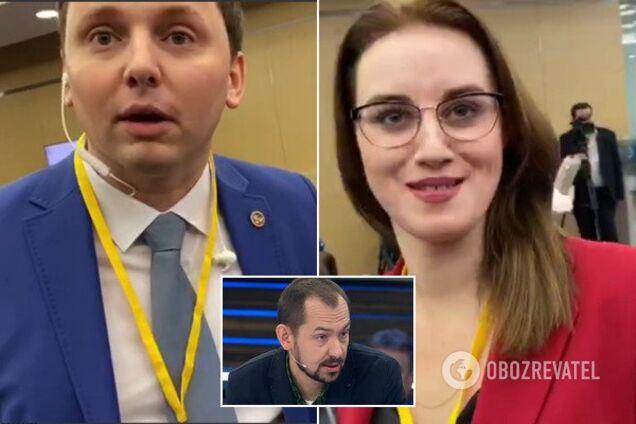 """Цимбалюк і пропагандисти """"Л/ДНР"""""""