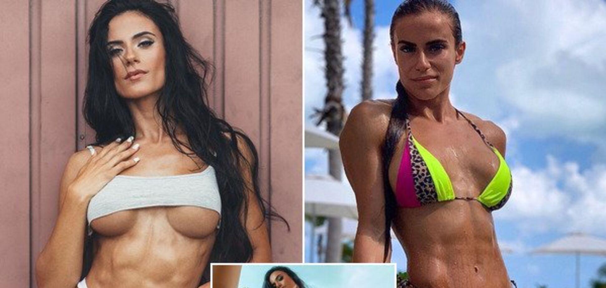 Известная фитнес-модель снялась обнаженной, показав идеальное тело