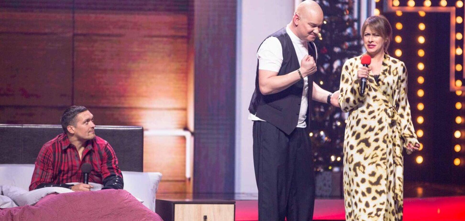 Провоцировали 'набить морду': Усик снялся в 'Вечернем квартале'