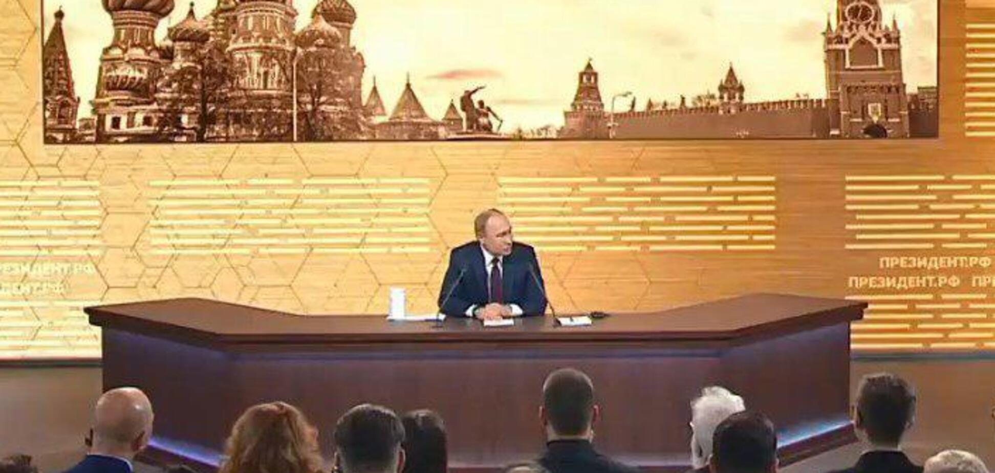 'Порожняк не гонить!' Путін спрогнозував ситуацію на Донбасі