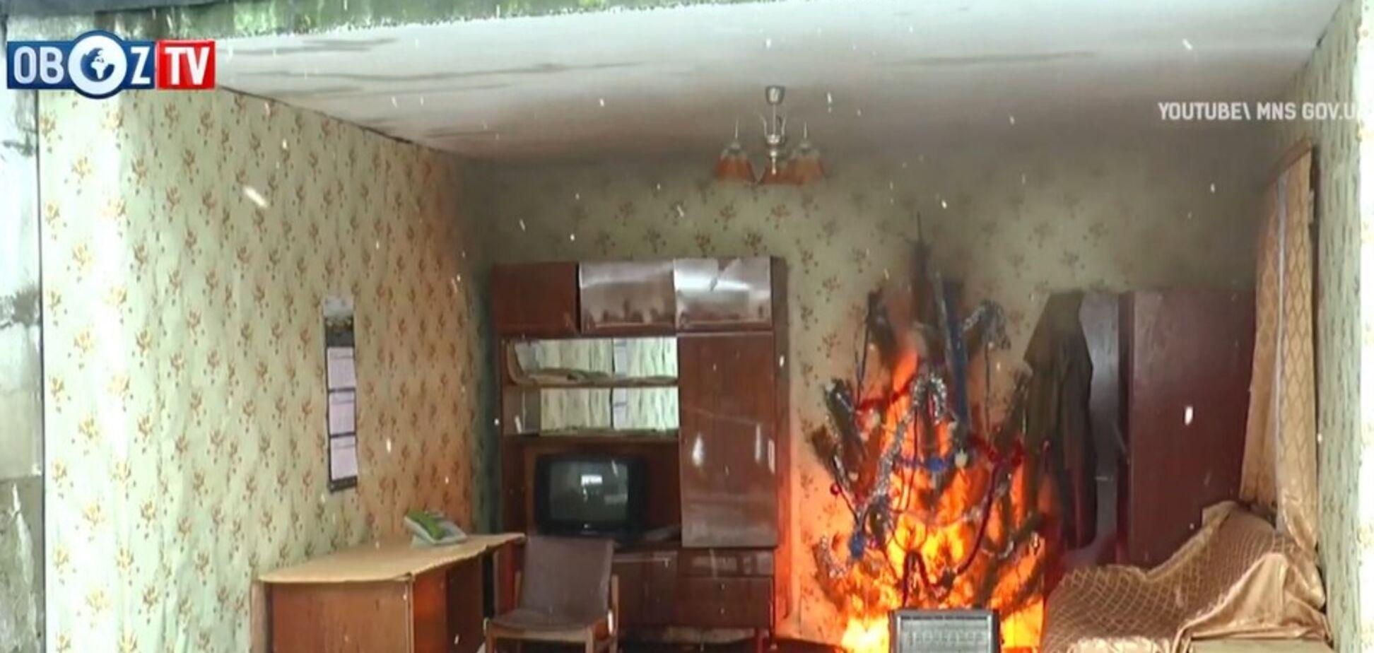 Небезпечні гірлянди: українцям розповіли, як не спалити квартиру на Новий рік