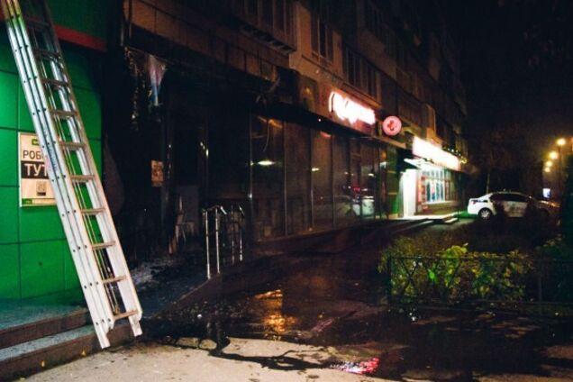 У Києві знову підпалили магазини відомої мережі