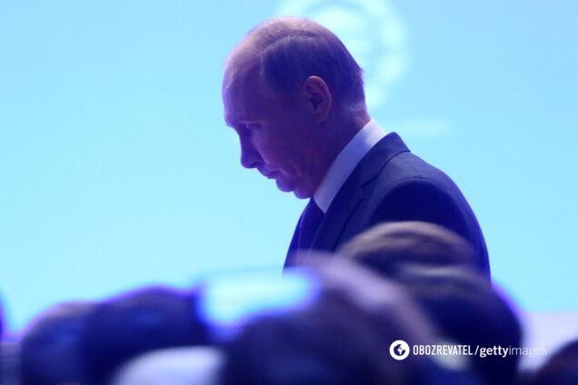 З літаком Путіна сталася НП в небі