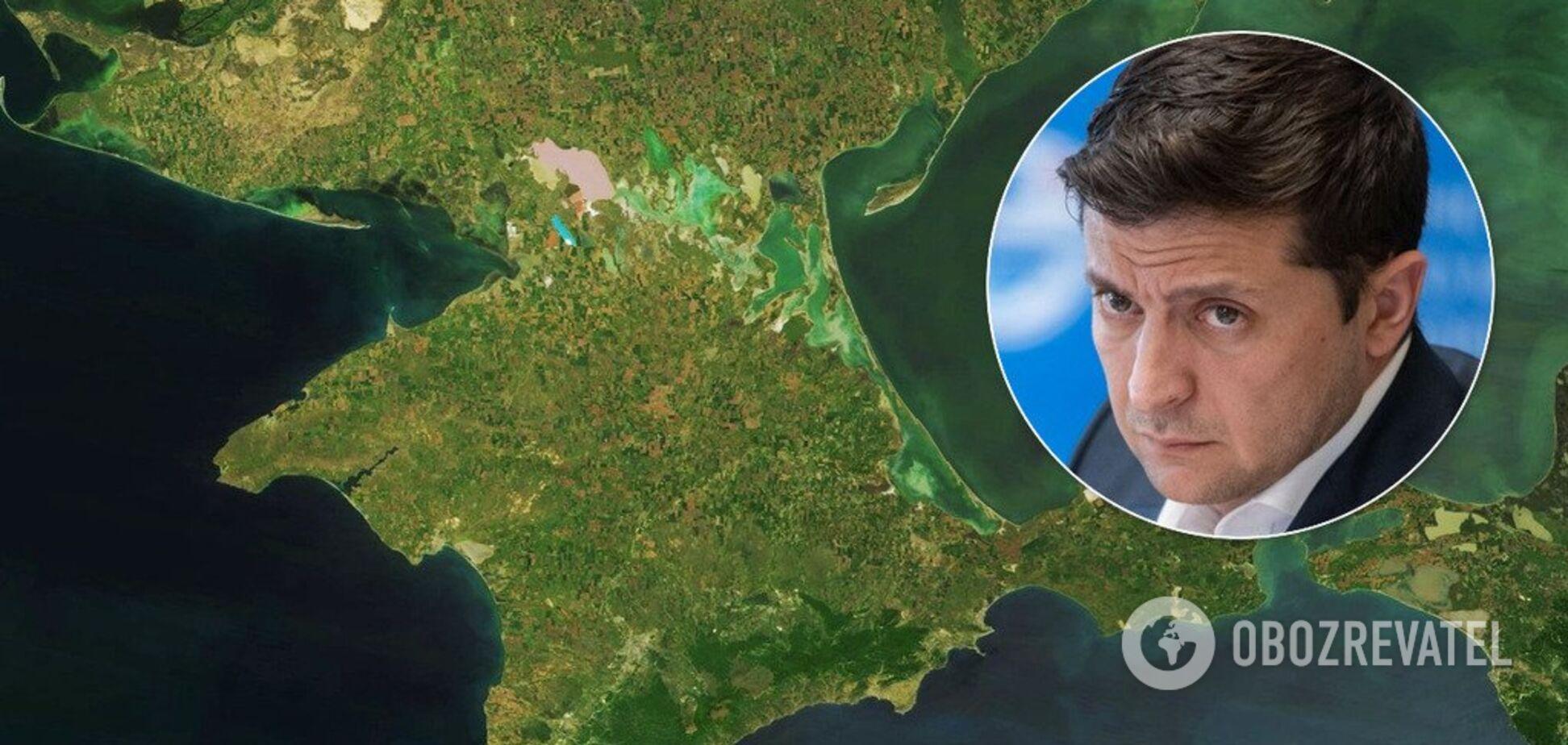 Зеленський розкрив план щодо повернення Криму: у Кремлі відповіли