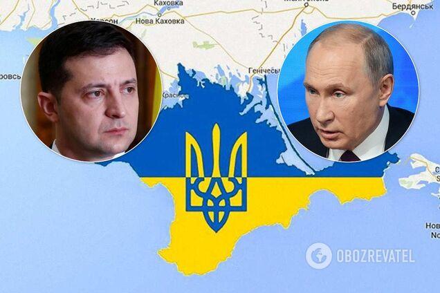 Путин потребовал у Зеленского воду для Крыма – СМИ