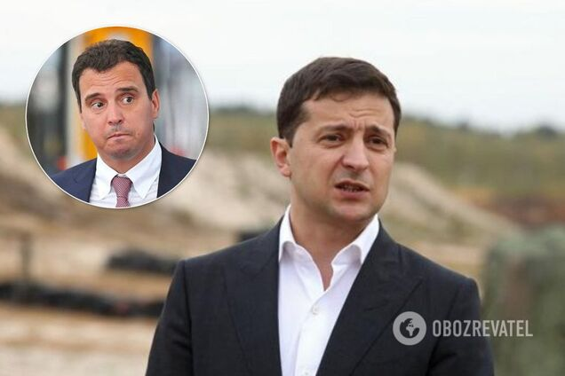 Зеленский открестился от скандала с Абромавичусом