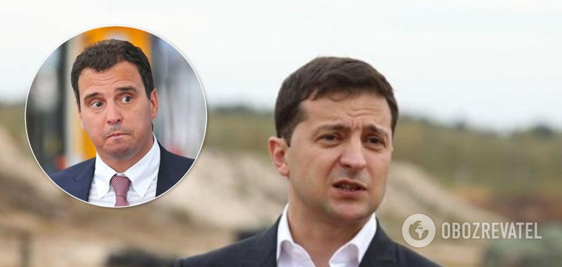 Зеленский открестился от скандала сАбромавичусом