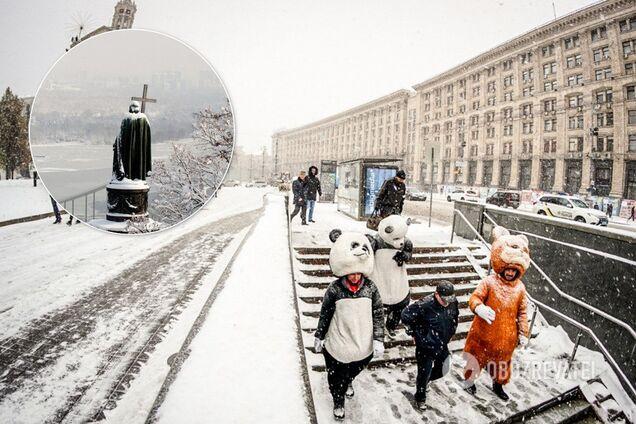 Київ накриє снігова буря