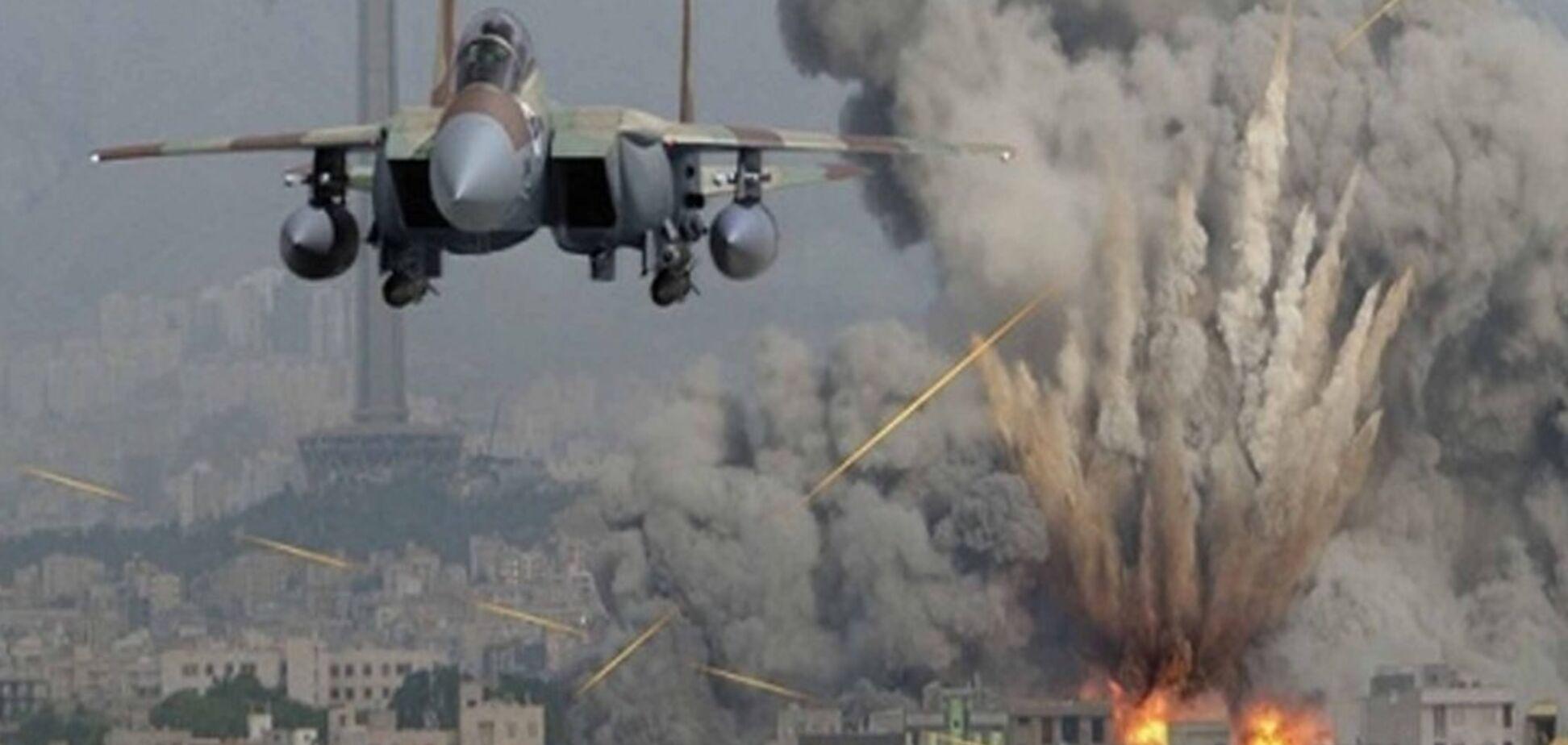 Авіаудар по Сирії