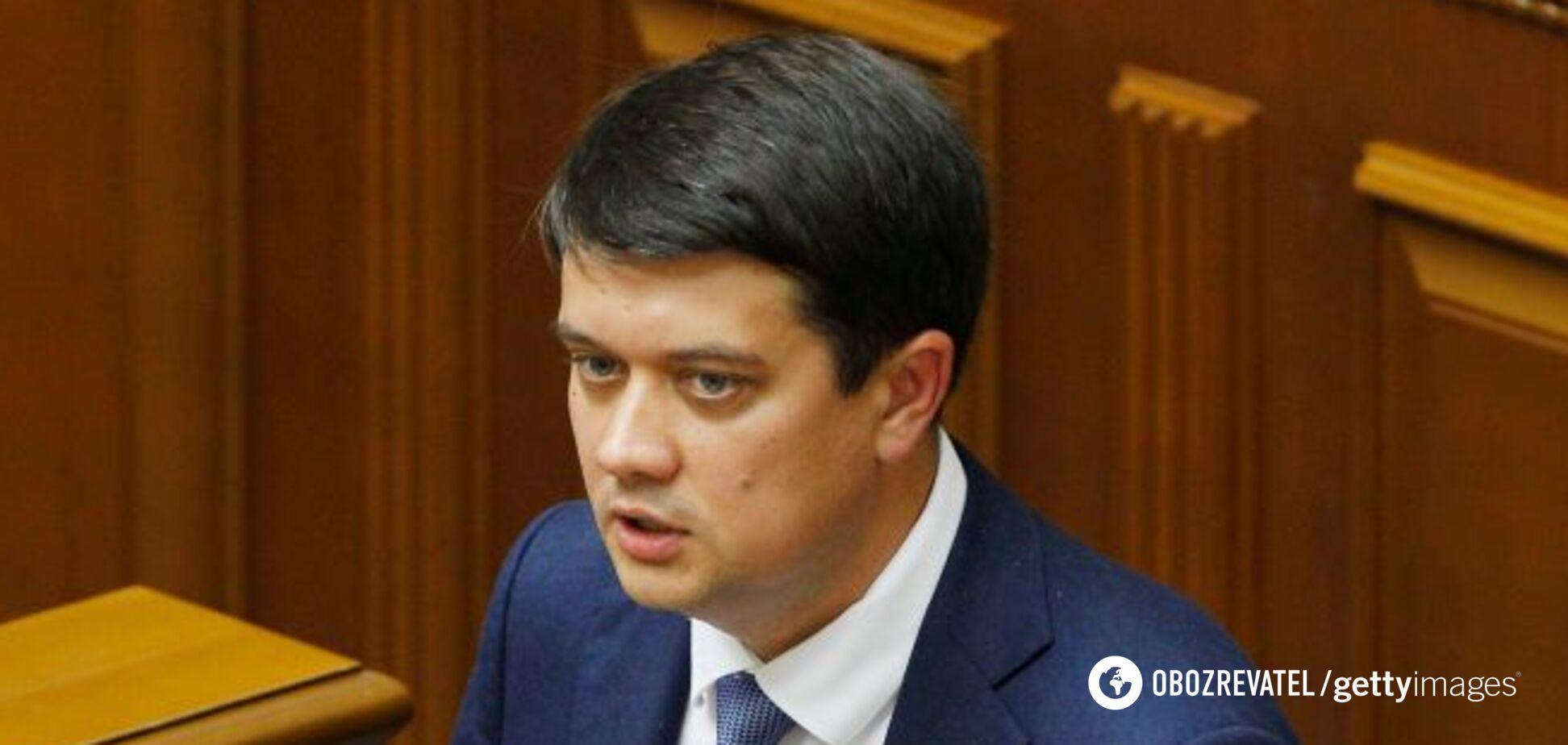 'Единый народ': Разумков поставил на место политика Путина, угрожавшего Украине