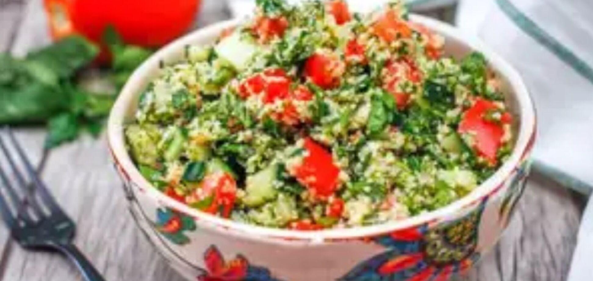 Рецепт неймовірно смачного салату з кус-кусом на свято