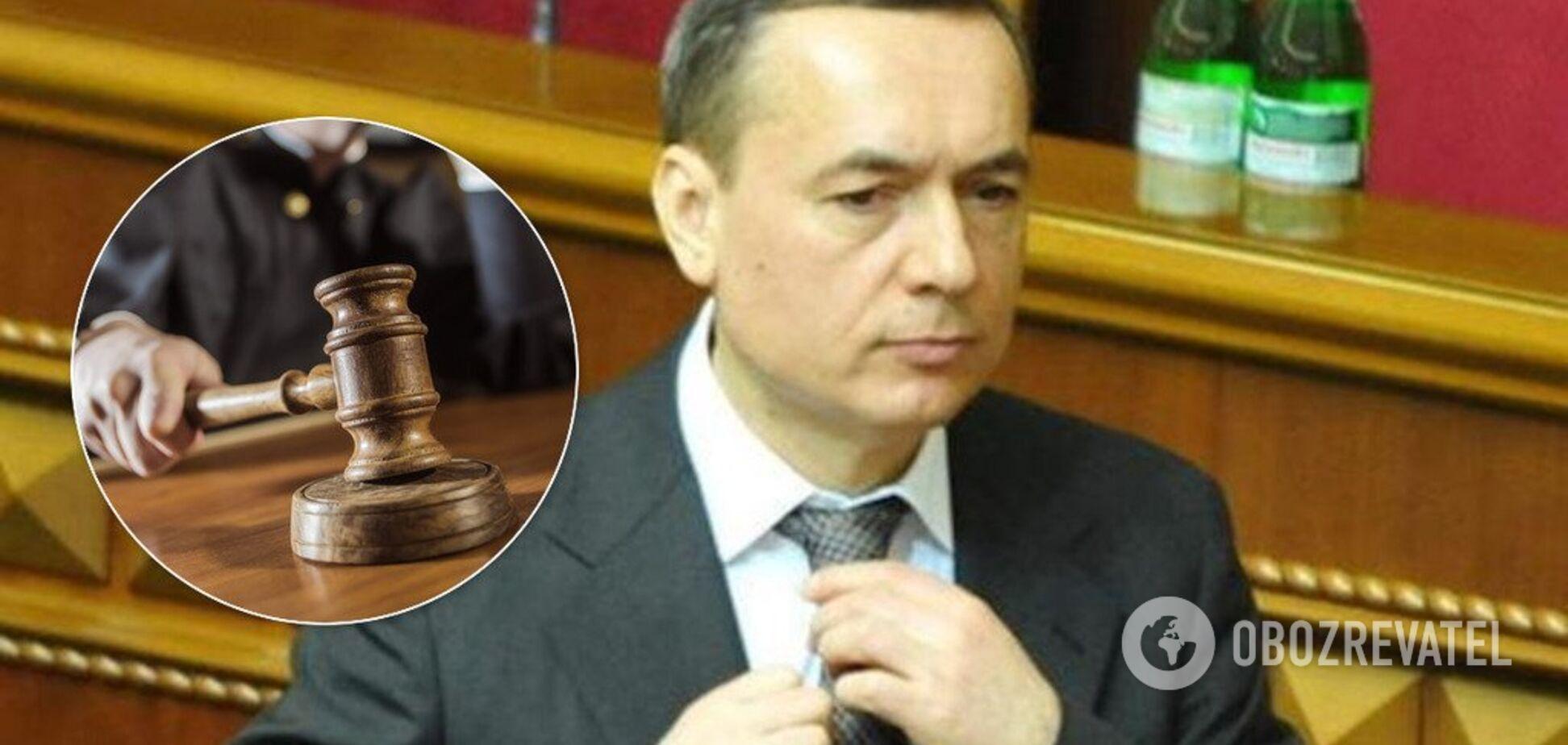 Екснардепа Мартиненка звинуватили у відмиванні 3 млн євро у Швейцарії