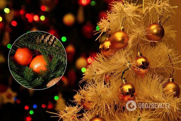 Наряжая елку, можно усилить энергию богатства и загадать желания