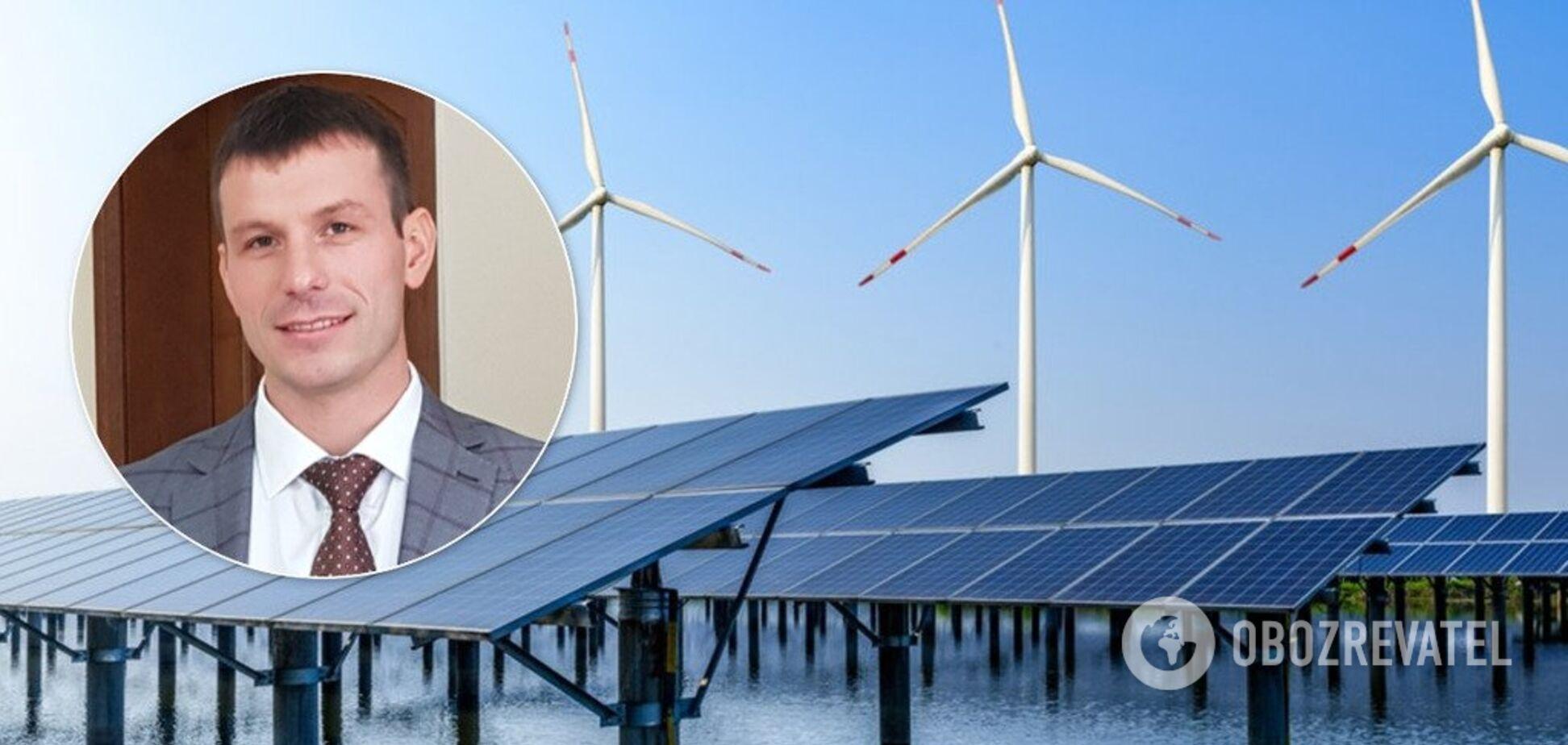 Спасти 'зеленую' энергетику Украины от перебоев: названо решение
