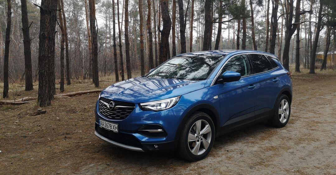 Opel Grandland X: детище евроинтеграции