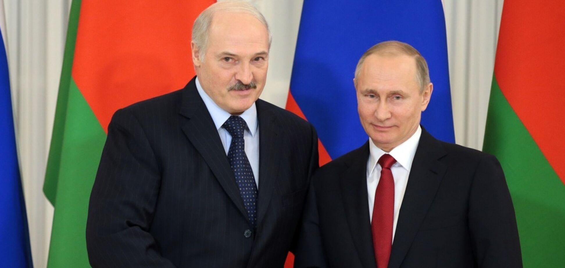 'Не разбежались, как Россия с Украиной!' Лукашенко публично подыграл Путину