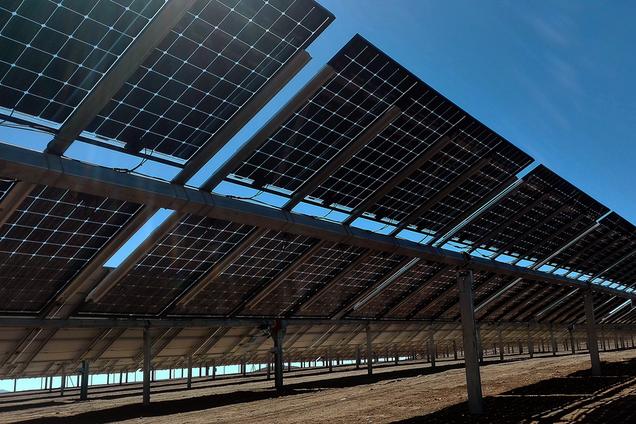 Двосторонні сонячні панелі