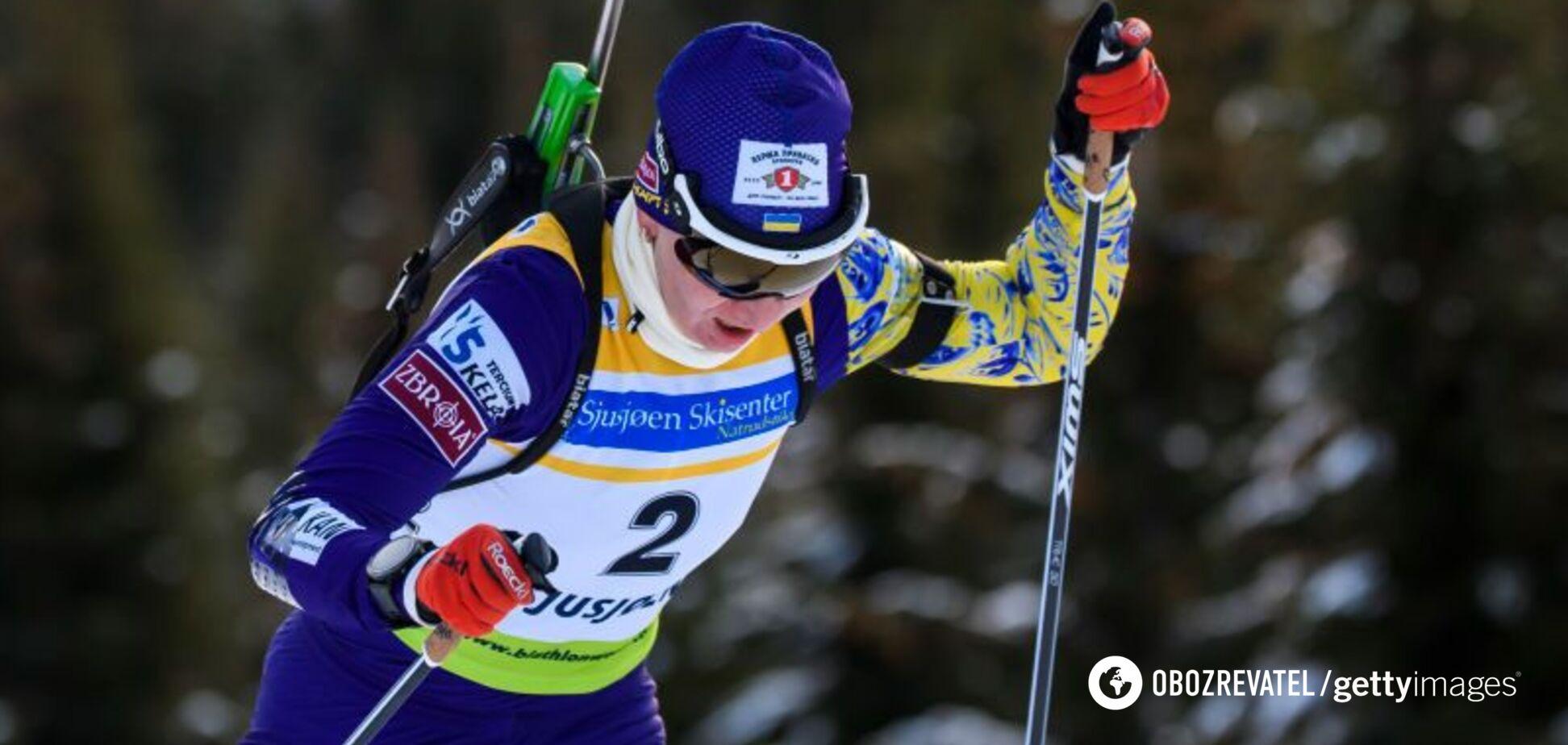 Українка посіла останнє місце на Кубку світу з біатлону