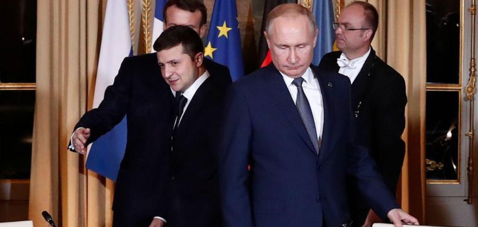 Переговори Путіна і Зеленського