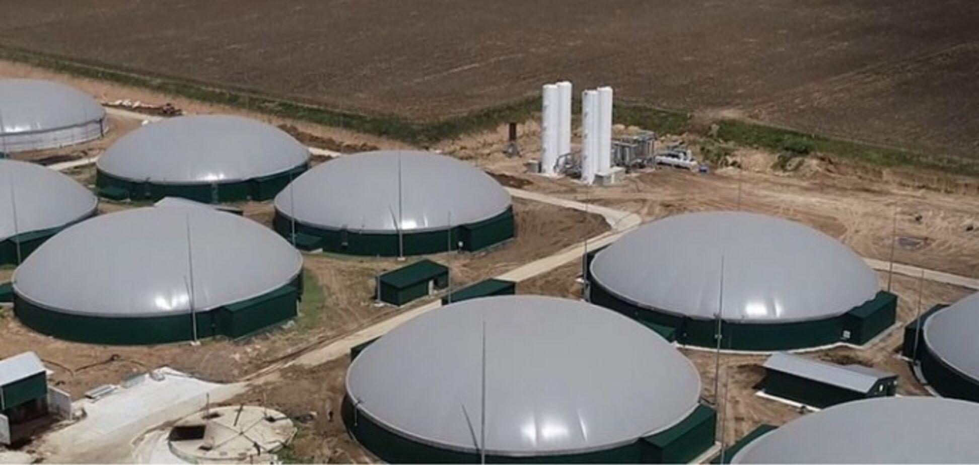 Крупнейший в своем роде: в Украине запустили мощный биогазовый комплекс